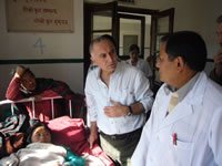 kathmandu_nov2009 Clinic and Wards